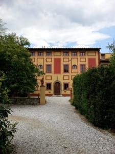 Villa Carri Braschi - fachada
